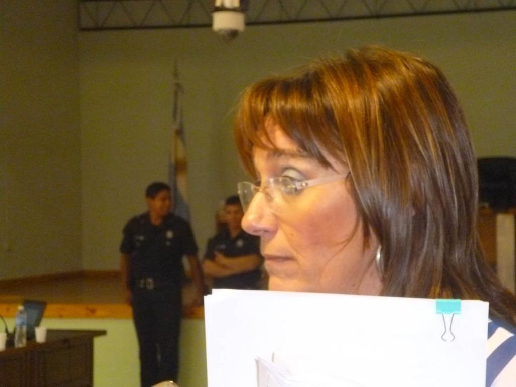 Secretaria del Tribunal, Silvina Domínguez